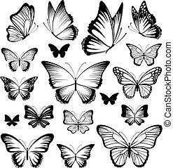 Tatuajes de mariposa