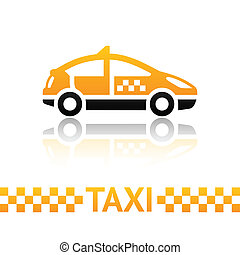 taxi, símbolo