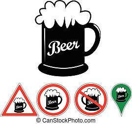 Taza de cerveza