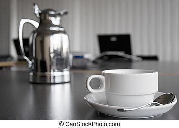 taza para café, olla
