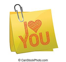 Te amo en un correo