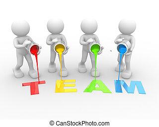 """team"", palabra"