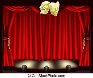 Teatro con máscaras