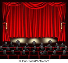 Teatro con público
