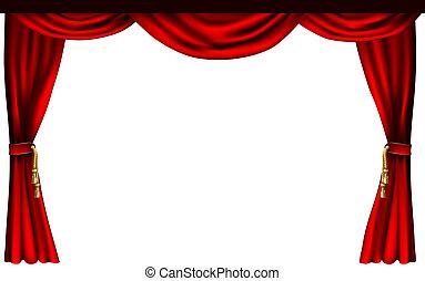 Teatro o cortinas de cine