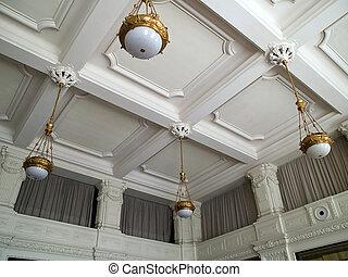 techo, fresco, clasical, handcraft