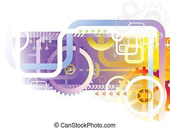 Tecnología abstracta