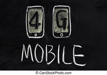 Tecnología de comunicación móvil de 4G