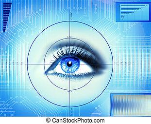 Tecnología de ojos
