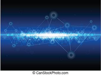 Tecnología digital de la red