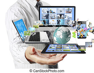 Tecnología en las manos