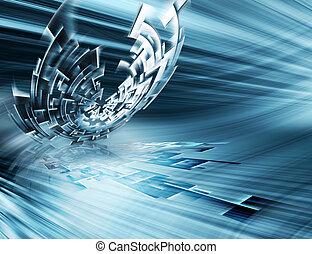 Tecnología futurista