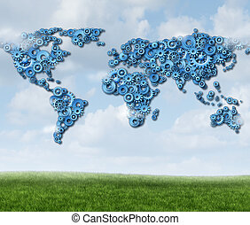 Tecnología global de nubes