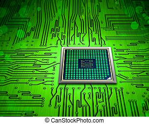 Tecnología microchip