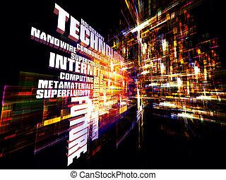 Tecnología moderna abstracta
