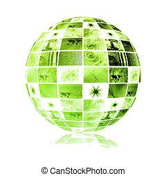 Tecnología mundial de los medios de comunicación