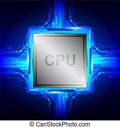 Tecnología procesadora de computadoras