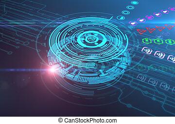 Tecnología y concepto futuro
