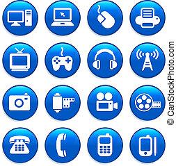Tecnología y elementos de diseño de comunicaciones