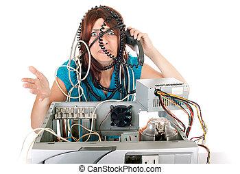 Tecnologia femenina pánico