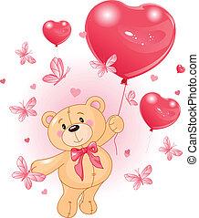 Teddy de San Valentín