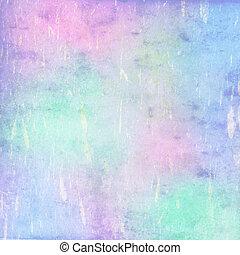 Tejado en color pastel