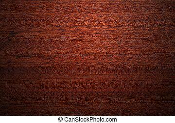 Tejas de madera de caoba