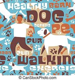 Tejas para pasear perros