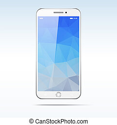 Teléfono de pantalla táctil moderno