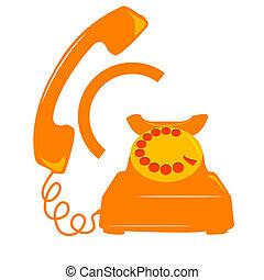 teléfono, icono