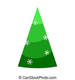 telón de fondo., invierno, hermoso, lindo, decoration., navidad, caricatura, element., illustration., blanco, colorido, estación, vector, feriado, árbol., ilustración, diseño