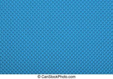 Tela azul con puntos, fondo.