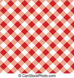 Tela de tela roja