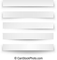 tela, encabezamiento, plantilla, blanco, sombra, bandera