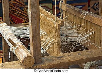 Telar de madera