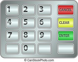 telclado numérico