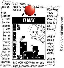 telecomunicaciones, classifieds, día
