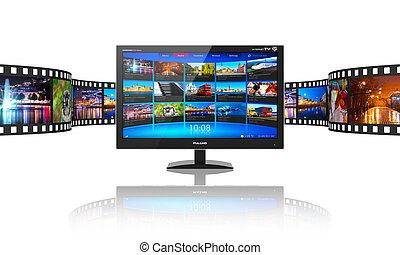 Telecomunicaciones mediáticas y el concepto de vídeo