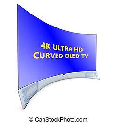 Televisión curva