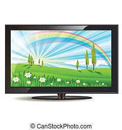 Televisión puesta