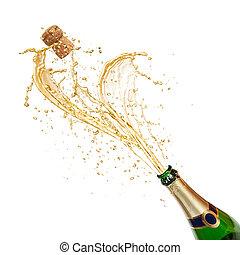 tema, c, celebración, salpicar