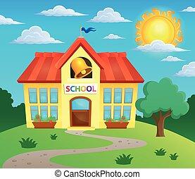 Tema de construcción escolar 3
