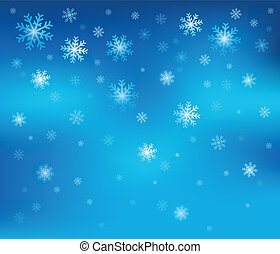 Tema de Copo de Nieve 2
