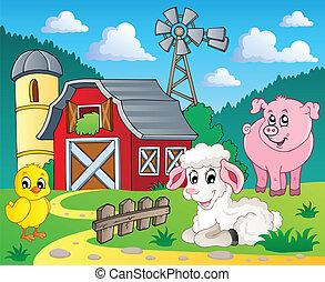 Tema de la granja 5
