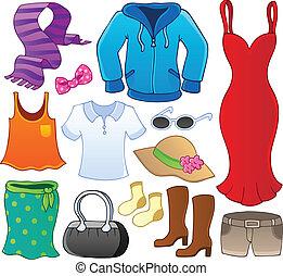 Tema de la ropa, colección 1