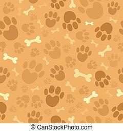 Tema de perro sin manchas de fondo 1