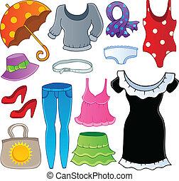 Tema de ropa, colección 2