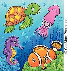 Tema de vida marina 3