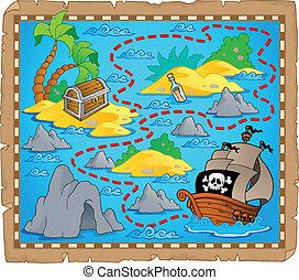 Tema del mapa del tesoro 3