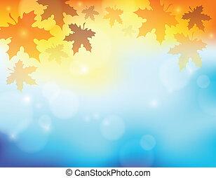 Tema del otoño segundo